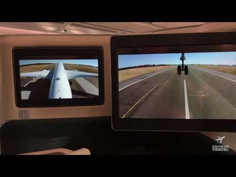 AMAZING On-Board Camera take off: Cathay Pacific Christchurch to Hong Kong