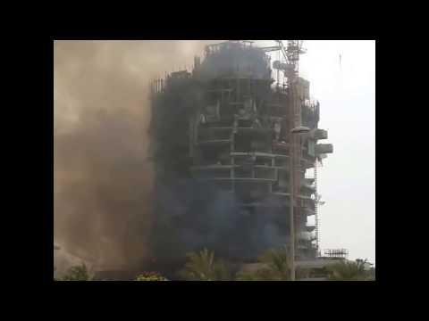 Viceroy dubai on fire #jvc