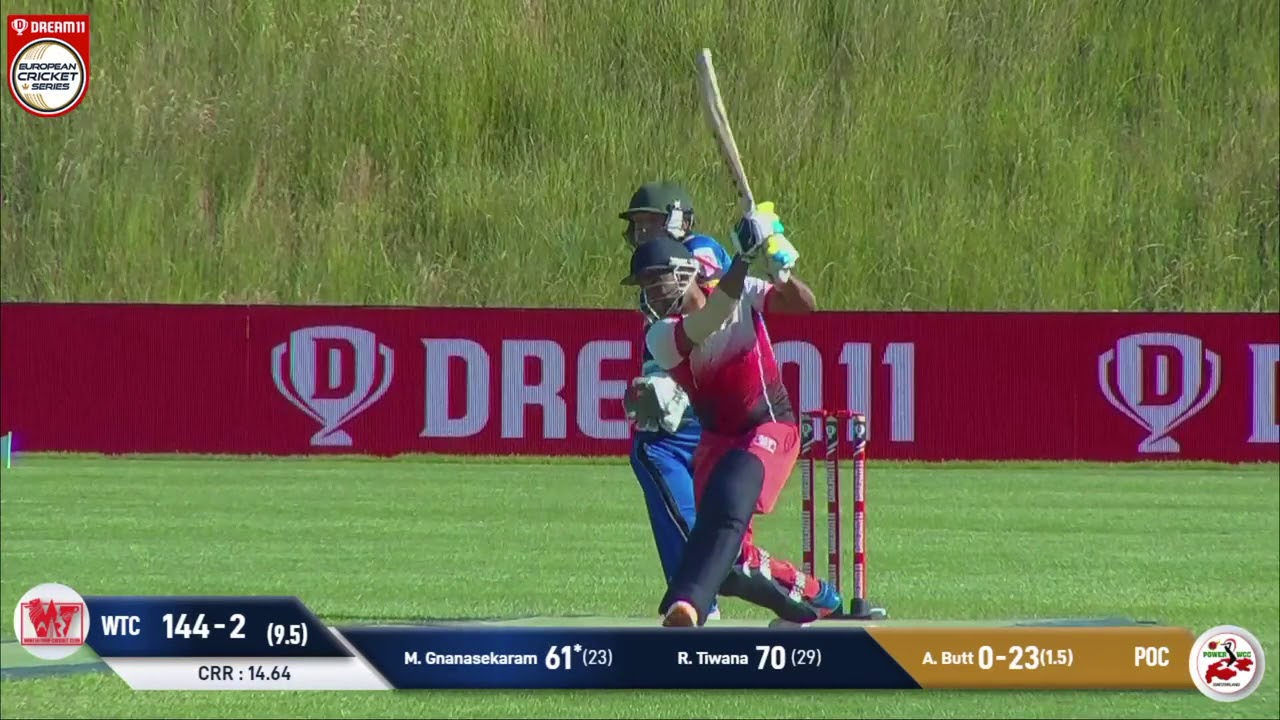 Match 20 - WTC vs POC | Highlights | Dream11 Europen Cricket Series St Gallen | ECS 2020