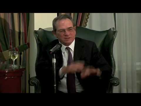 Tommy Lee Jones on Will Smith