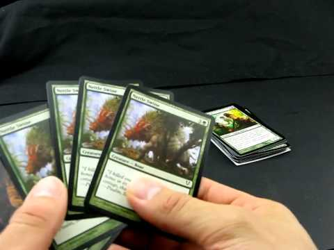 Обзор второго комплекта карт Magic the Gathering зелёного цвета №02