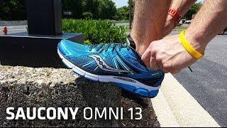 Running Shoe Overview: Saucony Omni 13