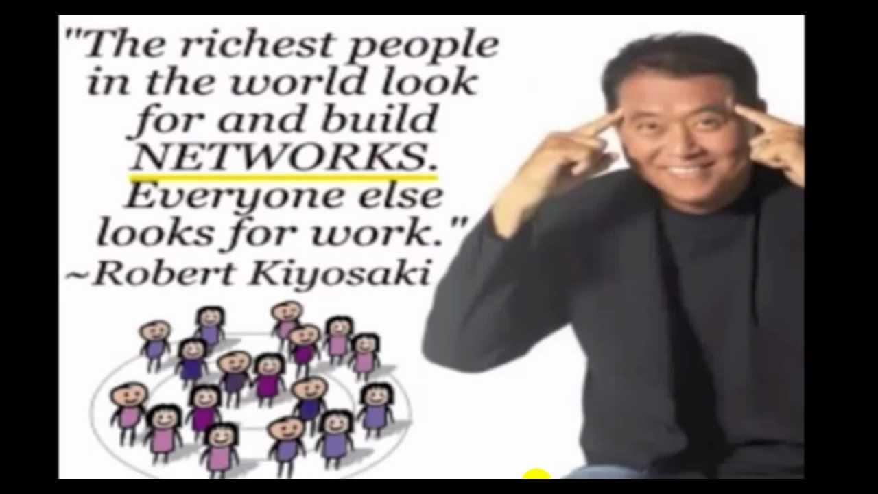 robert kiyosaki 'network ' internet marketing article