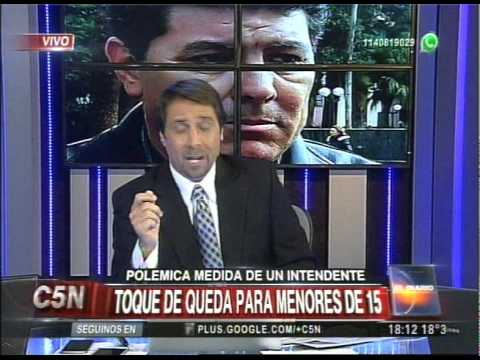 C5N - EL DIARIO: POLEMICA MEDIDA DE UN INTENDENTE