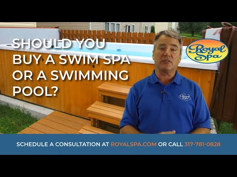 Should You Buy A Swim Spa Or A Swimming Pool?