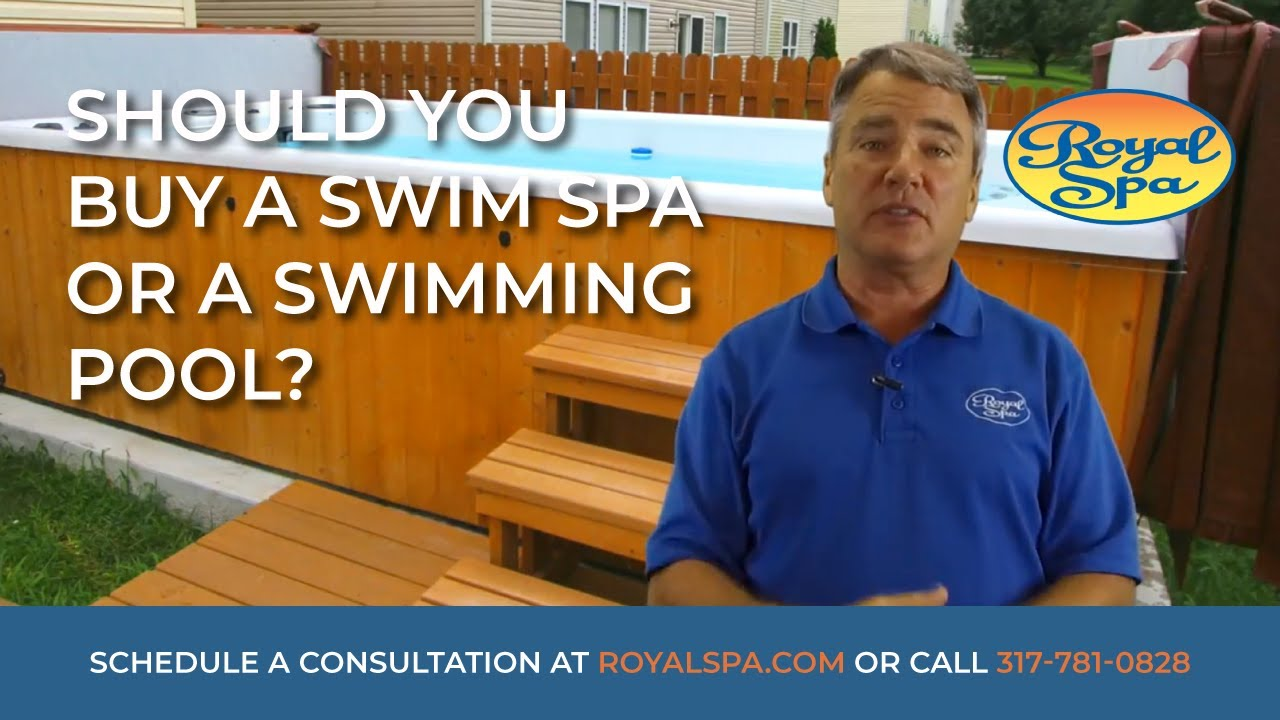 Jacuzzi Pool Youtube Should You Buy A Swim Spa Or A Swimming Pool