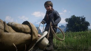 Playing as Jack Marston - Red Dead Redemption 2 PC