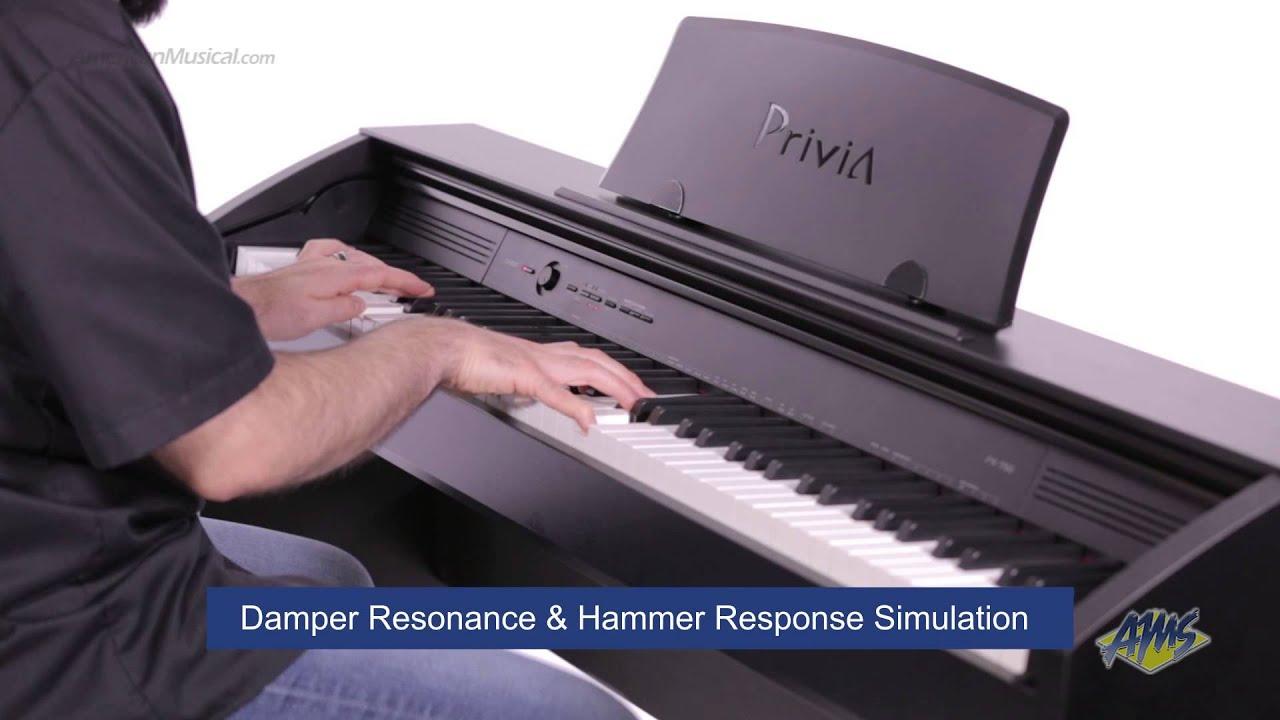 Обзор цифрового пианино Casio PX760 от Pianino.by - YouTube