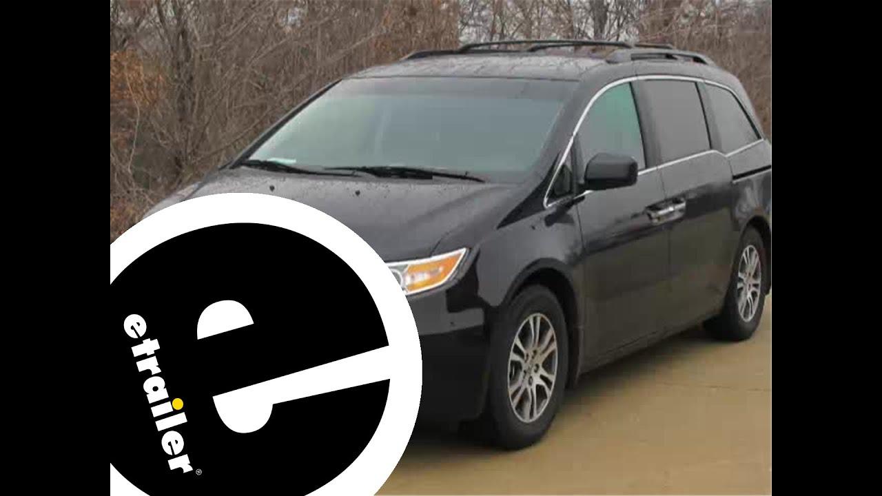 Floor mats odyssey - Review Of The Weathertech Front Floor Liner On A 2012 Honda Odyssey Etrailer Com
