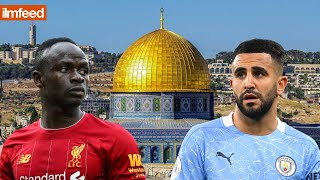 FOOTBALLERS SHOW THEIR SUPPORT FOR PALESTINE