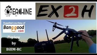 Eachine EX2H review - Flight & Features Tests (Part II)