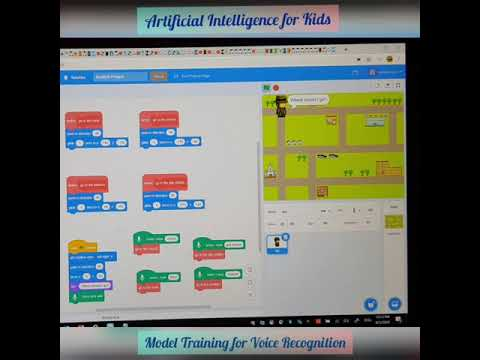 AI For Kids:Machine Learning With Voice Recognition Using Scratch