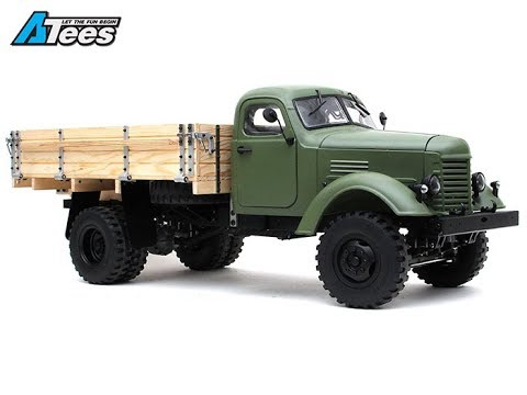 Unboxing KiNG KONG RC CA10 1/12 MILITARY 4X2 RC Truck