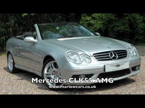 Mercedes Clk 55 Amg Convertible Youtube