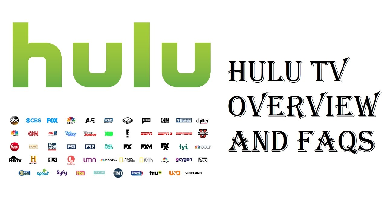 Hulu Live Tv Channel Lineup Packages
