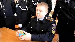Кадеты из Медведевской школы №3