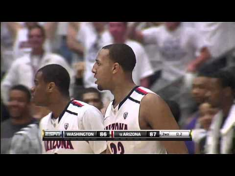 Derrick Williams Saves The Day For Arizona GREAT QUALITY