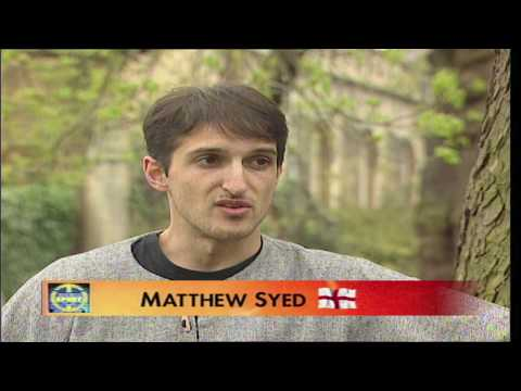 Matthew Syed | Former Table Tennis Star Aged 24 on Trans Wor