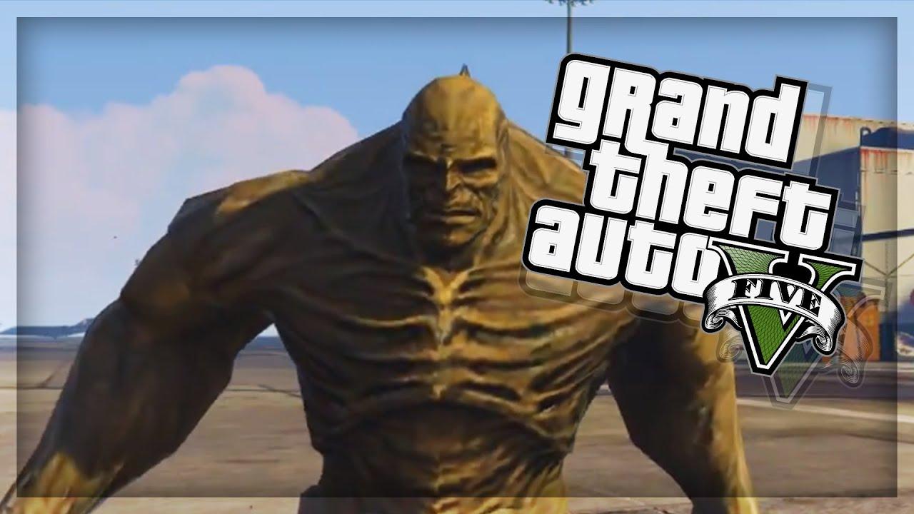 GTA 5 EPIC PC Mods - ABOMINATION vs INCREDIBLE HULK! (GTA 5 Mods) by Razimo