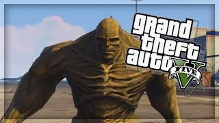 GTA 5 EPIC PC Mods - ABOMINATION vs INCREDIBLE HULK! (GTA 5 Mods)