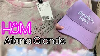 Ariana Grande H&M Clothes Shopping at H&M THANK U NEXT