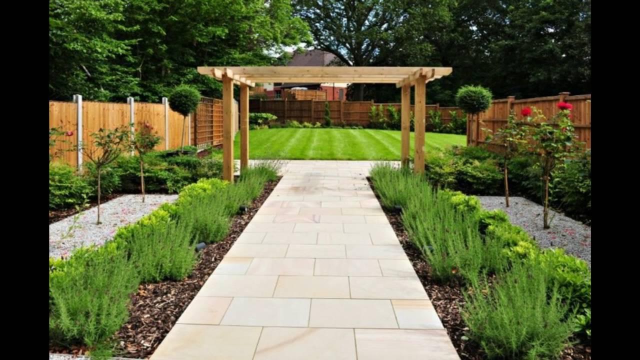 Decoraci n de jardines con bardas youtube - Diseno de jardines exteriores ...