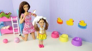 ПОСЛЕ САДИКА СТАЛО ЧЕСАТЬСЯ Мультик #Барби Куклы Для девочек Игрушки Для детей IkuklaTV Школа