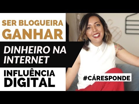 SER BLOGUEIRA | GANHAR DINHEIRO NA INTERNET | INFLUÊNCIA DIGITAL #CÁRESPONDE | CÁ CAVALCANTE