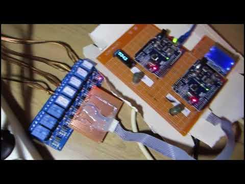 arduino pellet stove controller