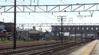 Video 【HD】ヘッドマーク付EF66-27♪[吹]牽引の貨物列車(1073レ) 清洲駅下り貨物線 download MP3, 3GP, MP4, WEBM, AVI, FLV Desember 2017