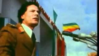 Mengistu and Gaddafi in Meskel Square
