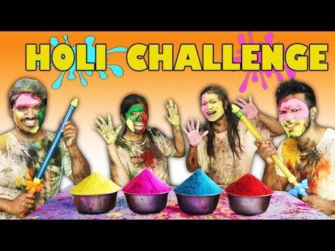EXTREME HOLI CHALLENGE | MOST FUNNIEST HOLI CHALLENGE EVER