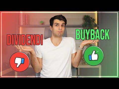 Dividendi VS Buyback: Cosa ti farà guadagnare di più
