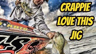 Crappie LOVE this jig- Raw un-edited teaser