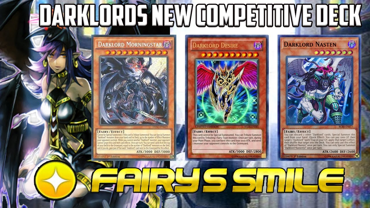 New DARKLORD Competitive Deck Endless Special Summon !! | Lords of Shining  [ Yu-Gi-Oh! DUEL LINKS ]