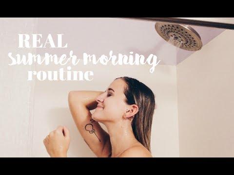 REAL Summer Morning Routine 2017 | Sydney Joz