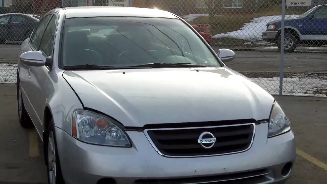 2003 Nissan Altima 2.5S Silver   FISH CREEK NISSAN