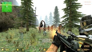 CSS - Zombie Riot Mod - zr_Mountain_River_v2c - Unloze Server