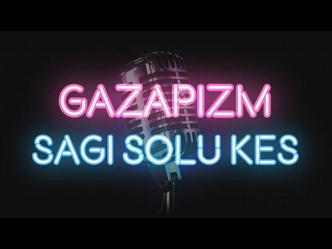 Gazapizm - Sağı Solu Kes (KARAOKE / SÖZLERİ / LYRICS)