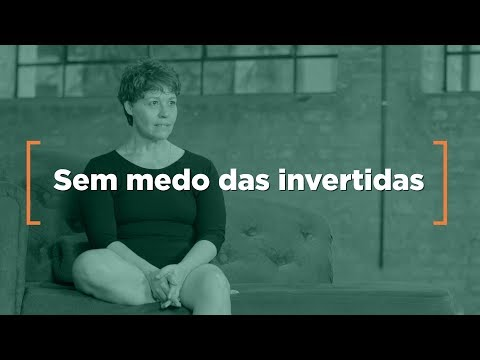 Sem medo das invertidas do Yoga