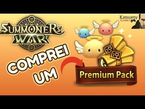 Summoners War - Comprei um PREMIUM PACK na madrugada! (sem narração*)