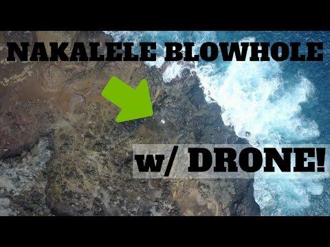 MAUI - NAKALELE BLOWHOLE W/ DJI MAVIC PRO! (+ HEART SHAPED ROCK)