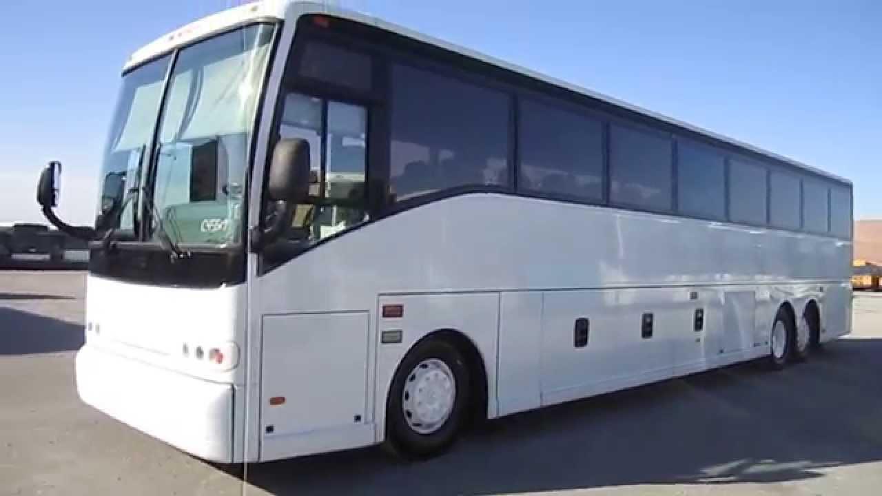 2000 van hool c2045 61 passenger coach with new upholstery c45519 by las vegas bus sales [ 1280 x 720 Pixel ]