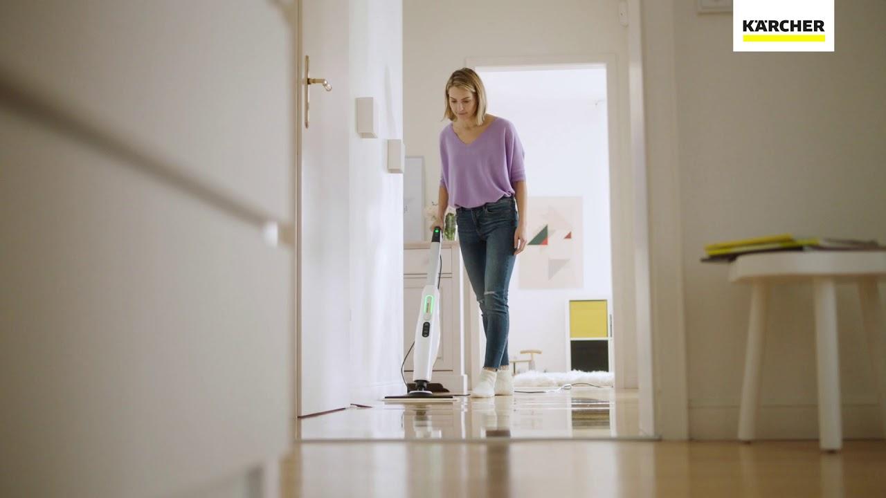 dampfreiniger sc 3 upright easyfix premium von k rcher youtube. Black Bedroom Furniture Sets. Home Design Ideas