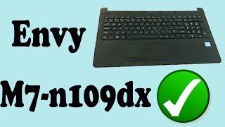 HP Envy M7 Keyboard Repair and Complete Tear Down