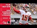 How Patrick Mahomes Torched the Steelers with 6 TD Passes | NFL Film Review