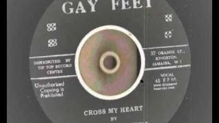 Download Johnny & The Atractions - Cross My Heart - Gay Feet Records Rocksteady repress MP3 song and Music Video