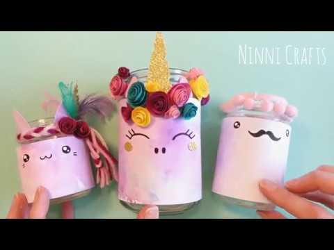 DIY Cutest Unicorn Pen Holder Desk Organizer ideas | Homemade Unicorn School Supplies Craft (2019)