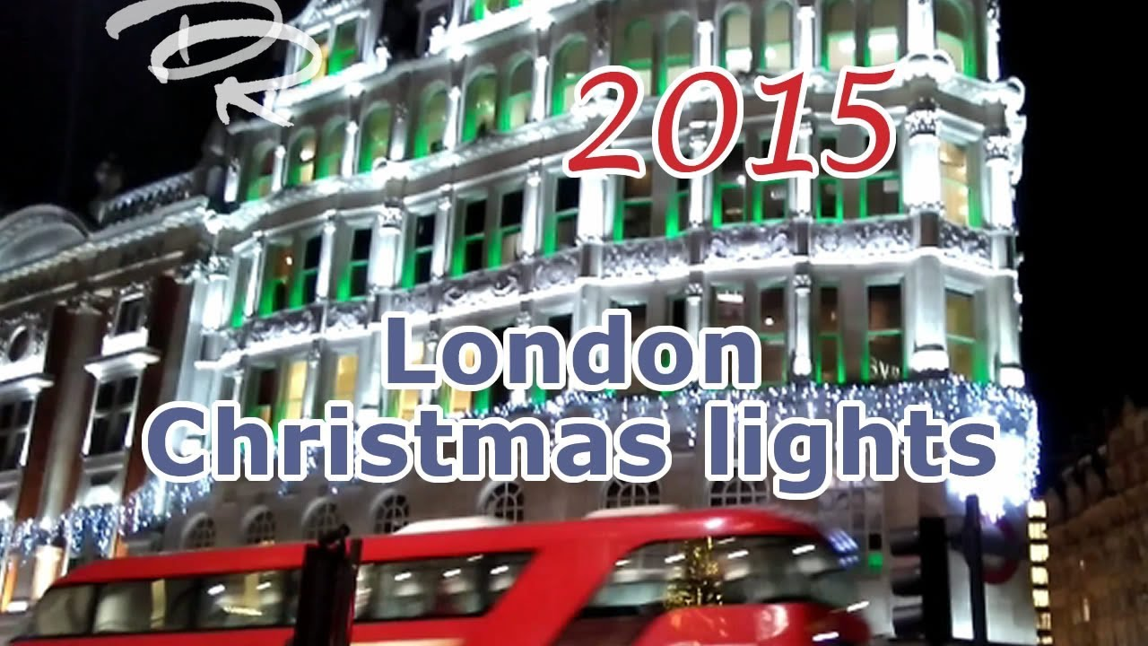 top london 2015 christmas lights store windows youtube - Christmas Lights Store