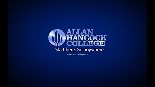 The Allan Hancock College Learning Assistance Program Orientation for Credit Students